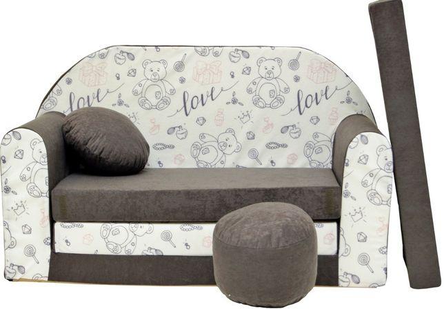 Kanapa sofa dla dzieci poduszka pufa materac łóżko