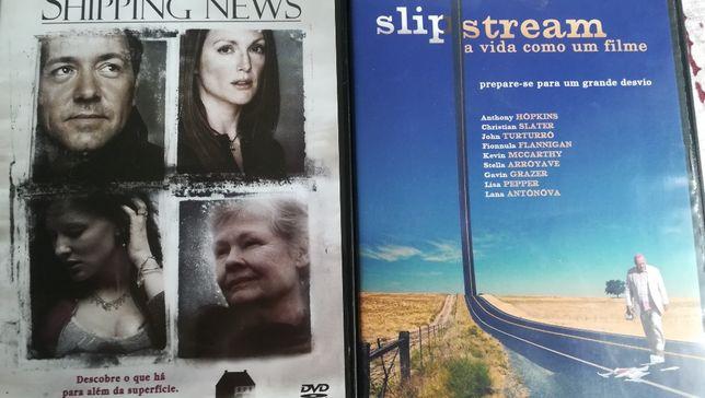 DVD Shipping News, Slip Stream, Sucesso.. Inadaptado