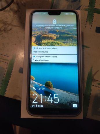 Huawei p20 lite 4/64Gb Идеал Полный комплект