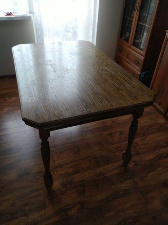 Rozkładany stół, dębowy