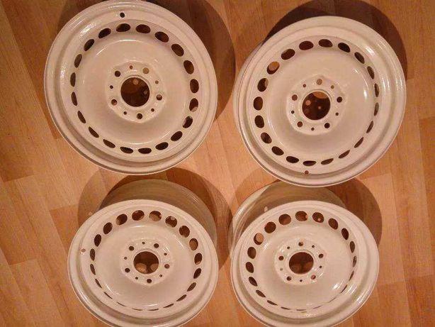 Felgi bmw e36 stalowe białe 15