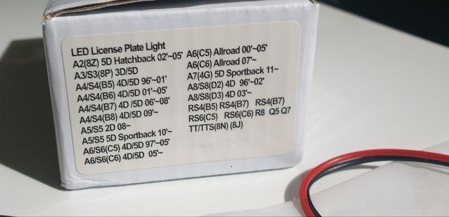 Luz led para matrícula Audi, VW, Seat, Skoda