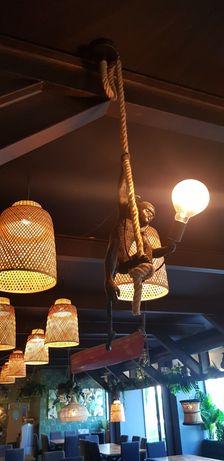 Invulgar : Candeeiro de Tecto Macaco Pendurado By Arcoazul