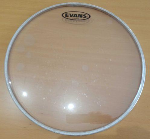 """Pele de timbalão 13"""" Evans TT13HG Hidraulic Glass"""