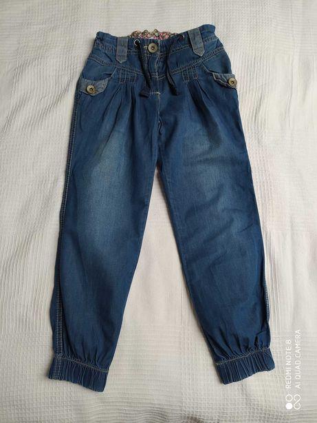 Spodnie dziewczęce jeans Next rozmiar 122