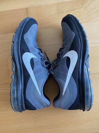 Nike Air Max Cinza e Preto