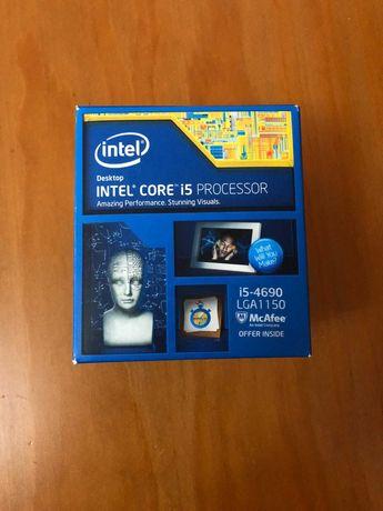 Intel core i5-4690 + Cooler Original com Caixa
