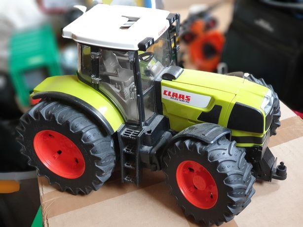 Bruder traktor Claas ciągnik New Holland kombajn