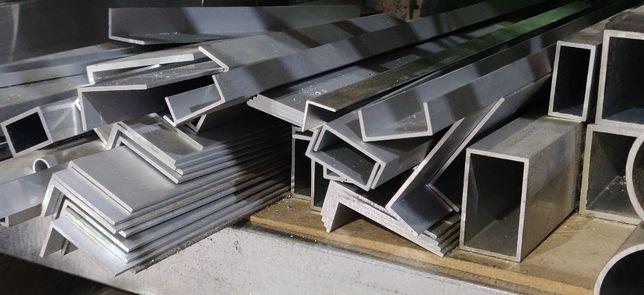 Алюминиевый уголок, труба, полоса, шина, швеллер, тавр, пруток