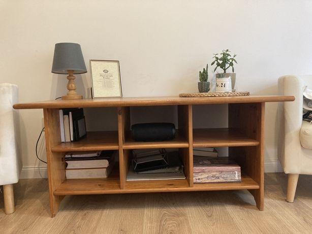 Ława szafka stolik drewniany sosnowy