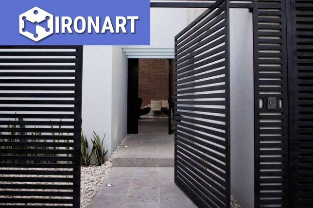 IRONART | Ogrodzenia, Bramy, Furtki | Palisadowe/ Cortan/ Panelowe