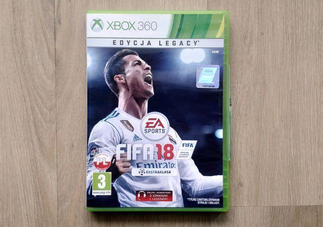 FIFA 18 Legacy PL stan bdb | xbox 360 [wysyłka 5 zł]