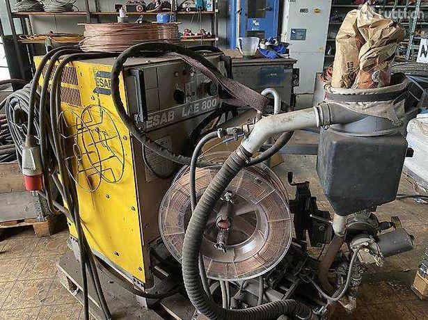 Spawarka/transformato ESAB LAE 800 do spawanie w osłonie proszku