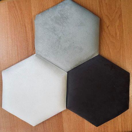 Panele tapicerowane 3D.