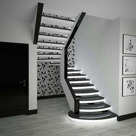 Лестницы деревянные, бетонные (лестница). Сходи, марші, ступеньки