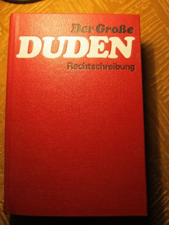 Duden Rechtschreibung Немецкий словарь правописания