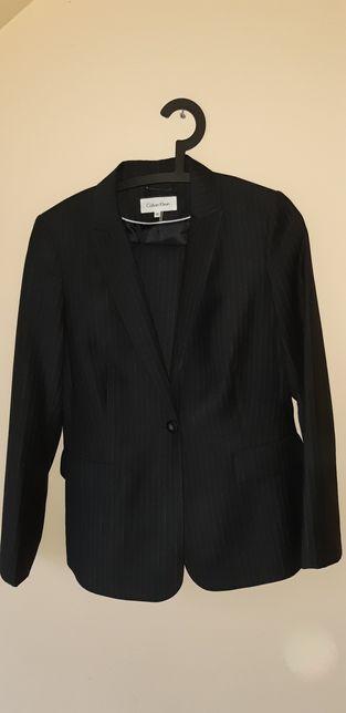 Elegancki garnitur marynarka i spodnie Calvin Klein rozm 10
