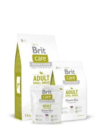 Brit Care Adult Small Breed Lamb Rice 7,5kg