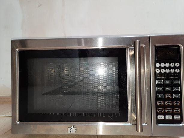 Микроволновая печь(нержавка) с грилем и конвекцией