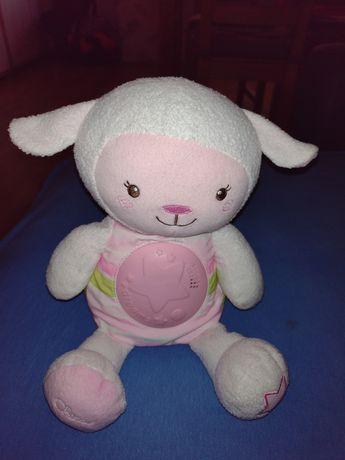 Owieczka do usypiania Chicco projektor lampka nocna kołysanki