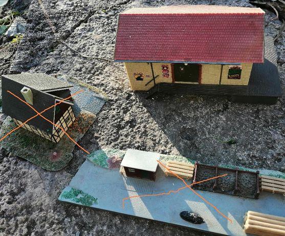 Детали и макет здания к железной дороге ГДР. Только Днепр.