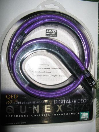 Коаксиальный кабель QED QUNEX SR-75 1m