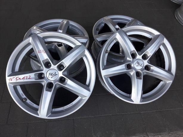 """16"""" 5x112 MSL Audi VW Skoda Seat"""