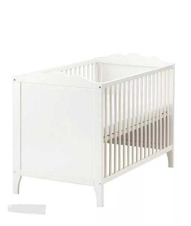 IKEA HENSVIK Łóżko dziecięce biały
