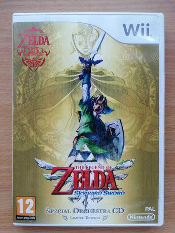 Jogo Skyward Sword Nintendo Wii - edição limitada Special Orchestra CD