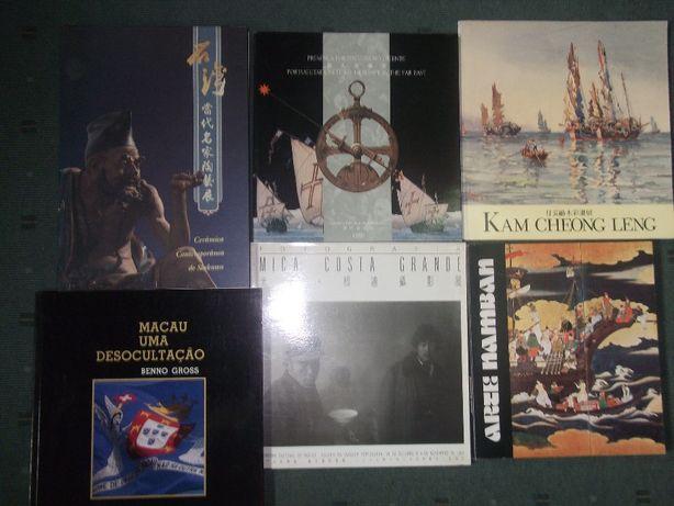SALDOS - Grande Lote Livros sobre MACAU