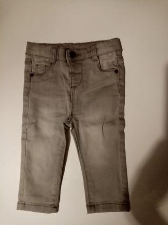 Spodnie, spodenki jeansy rurki Tape a L'OEIL