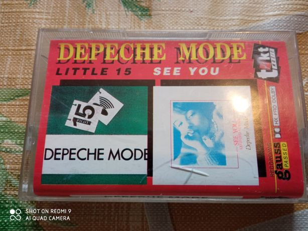 Depeche Mode. Kaseta magnetofonowa