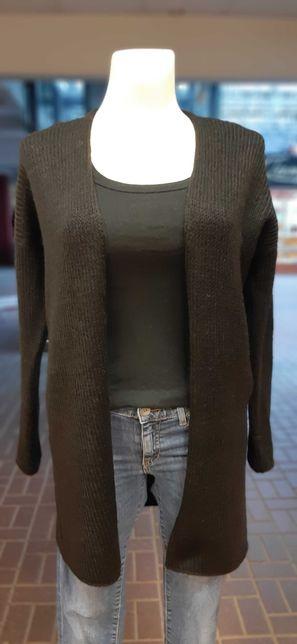 Sweter czarny, kardigan-NOWY, bezrozm., rozne kolory!