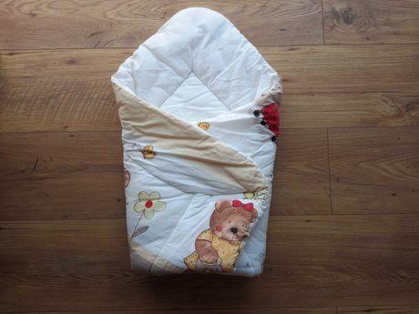 Rożek dla noworodka gruby, ciepły