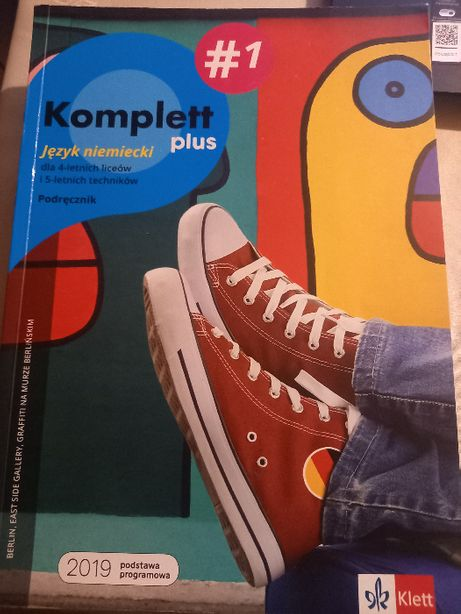 jezyk niemiecki komplett plus 1 klett podrecznik + ksiazka ćwiczeń