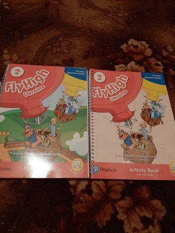 Продам учебник и рабочую тетрадь по английскому языку 2 класс