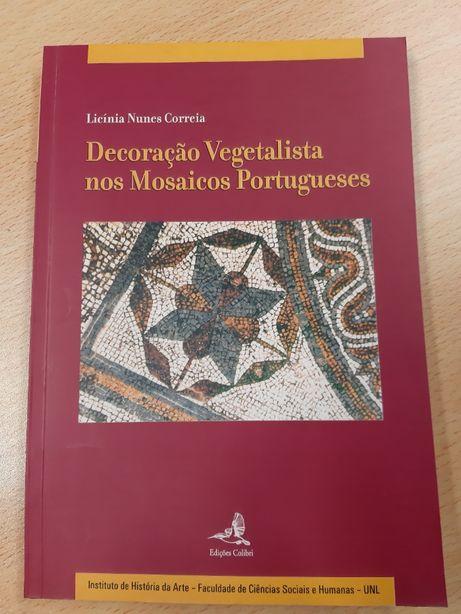 LIVRO Decoração vegetalista nos mosaicos portugueses