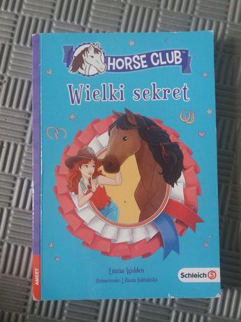"""Książka ,,Horse Club Wielki sekret"""""""