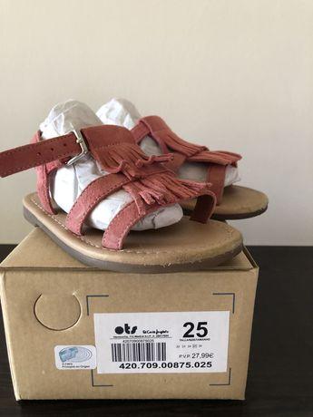 Sandalia rosa 25