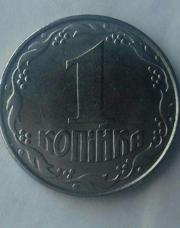 Продам монету 1копейка украйны.