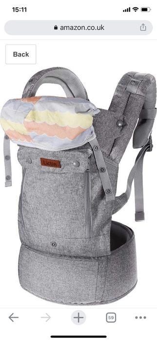 Кенгуру рюкзак переноску для детей от 3 кг немецкой фирмы Днепр - изображение 1