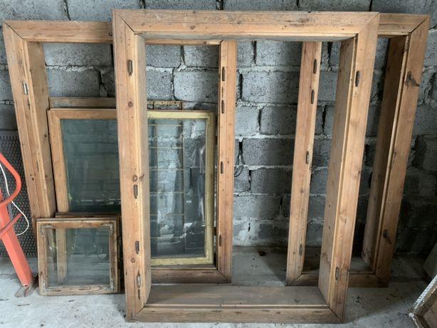 Віконні рами 150х110 145х110 150х55 (Вис х Шир) +5 засклених вікон
