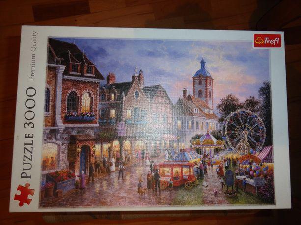 Puzzle Trefl 3000 EL - WESOŁE MIASTECZKO 33033