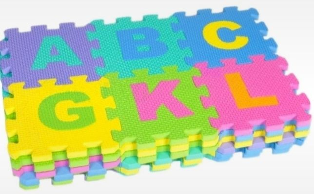 Puzzle piankowe 36 szt - 72 elementy