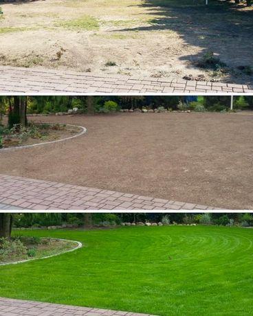 Usługi ogrodnicze/zakładanie trawników/koszenie trawy/przycinka tui