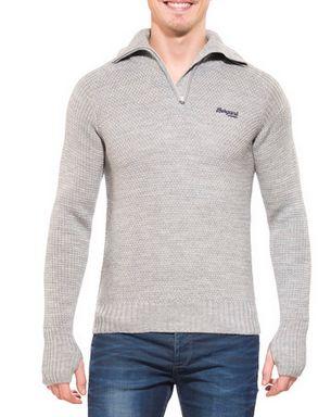 Bergans Ulriken jumper Męski sweter z wełny merino jak nowy M