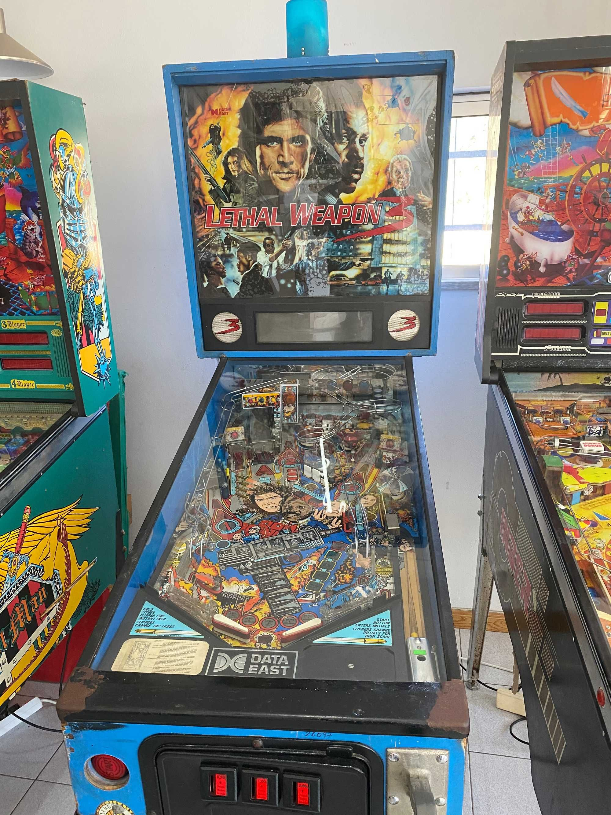 """Flipper - Pinball """"Lethal Weapon 3"""""""
