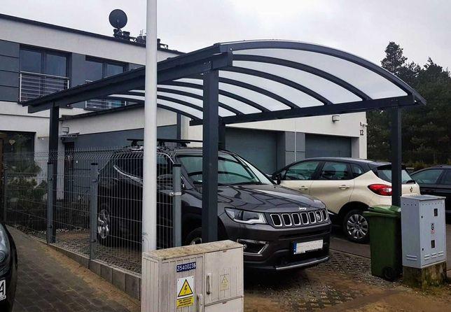 Wiata Garażowa Aluminiowa 6x3m Instrukcja Carport