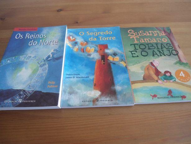 3 Obras da Editorial Presença-Colecção Estrela do Mar