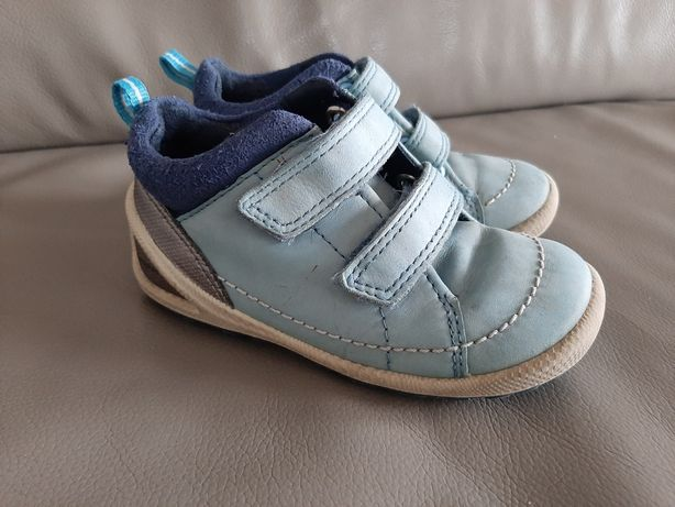 Skorzane buty ecco biom lite infants 24 rzepy skora naturalna